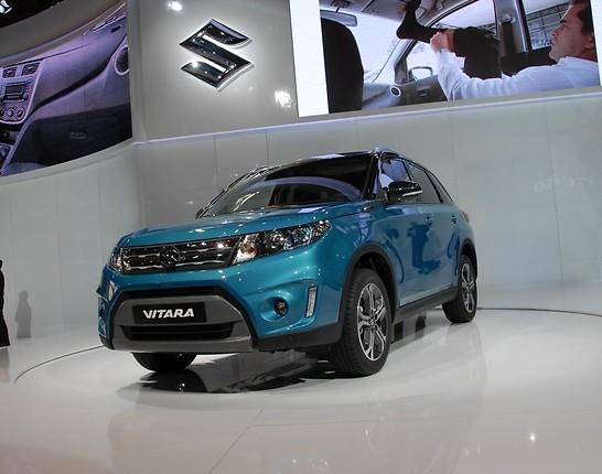 В начале ноября на автошоу в Париже появится новый Suzuki Vitara
